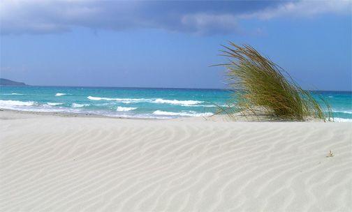 Porto Pino dunes, Sardinia
