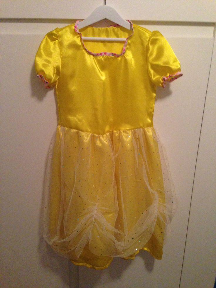 Zelf gemaakt: prinsessenkleed voor Lisa