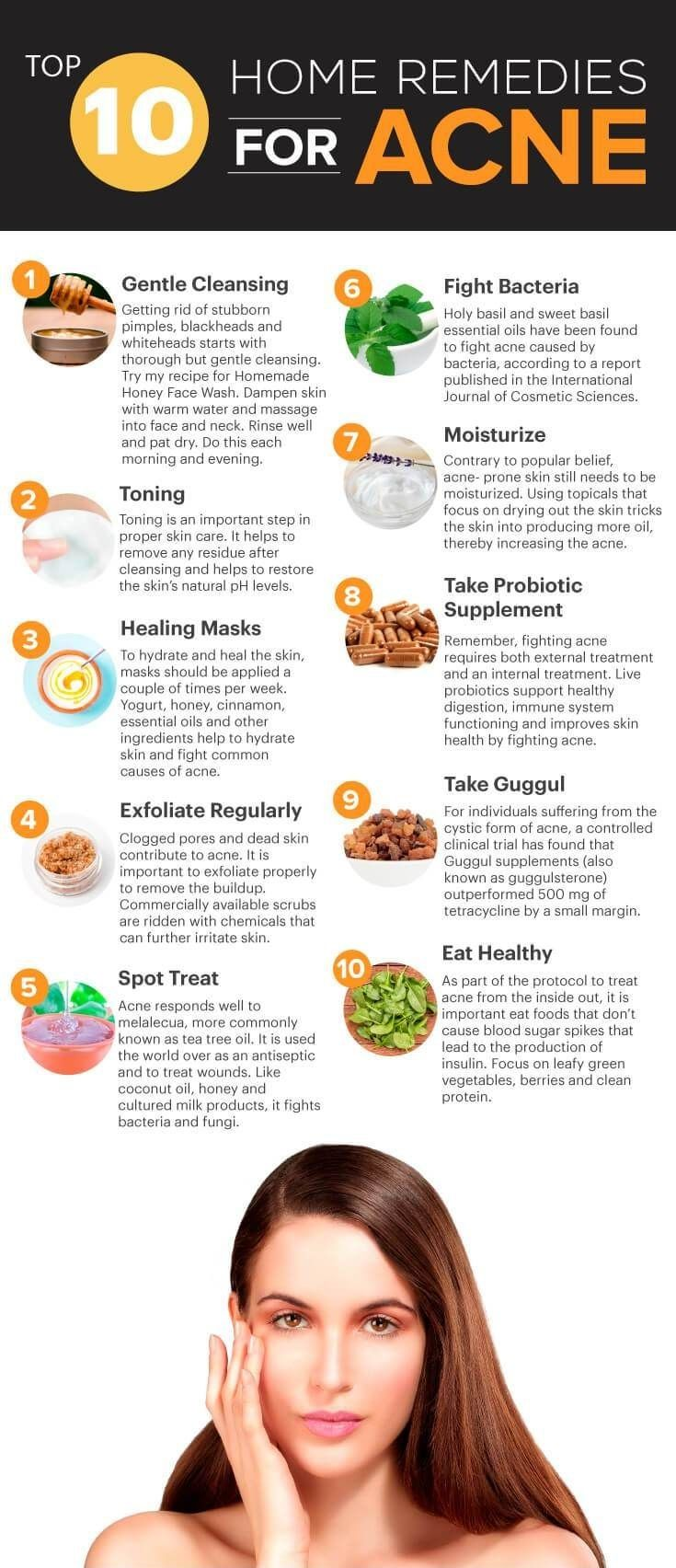 10 Surprising Home Remedies for Acne - best home remedy for
