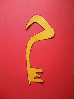 Arabic Alphabet Letter Craft (Set 4) م مفتاح