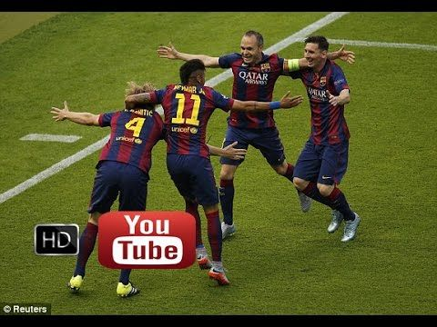 Rakitic goal | Barcelona vs Juventus 1-0 06/06/2015 Champions League
