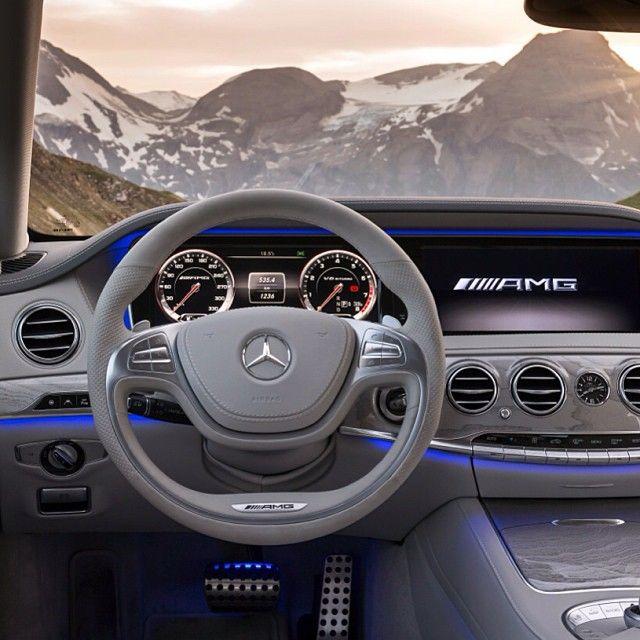 Mercedes Benz AMG interior