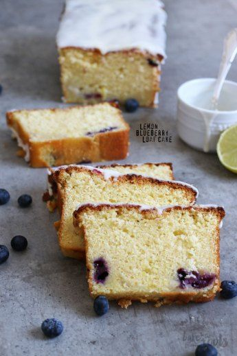 Lemon Blueberry Loaf Cake   Bake to the roots