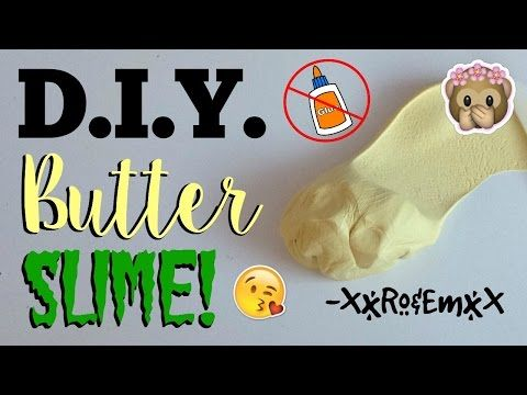 Diy air dry clay how to make clay without glue amazing two diy butter slime no glue borax detergent pudding powder or cornstarch ccuart Choice Image