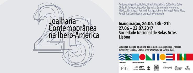 Veintitrés. Joyería Contemporánea en Iberoamérica, es una exposición incluida en el ámbito de las conmemoraciones oficiales Pasado y Presente en Lisboa 27.06.2017–22.07.2017