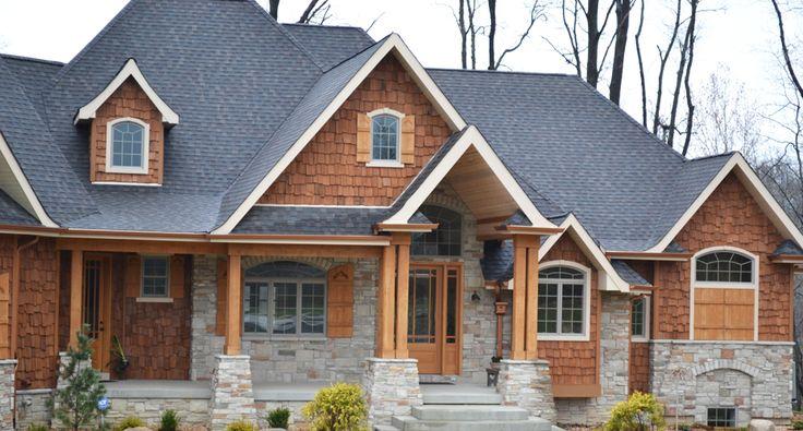 17 best ideas about cedar houses on pinterest steel for Cedar shake house plans