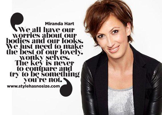 I HEART Miranda Hart! - Style has No size