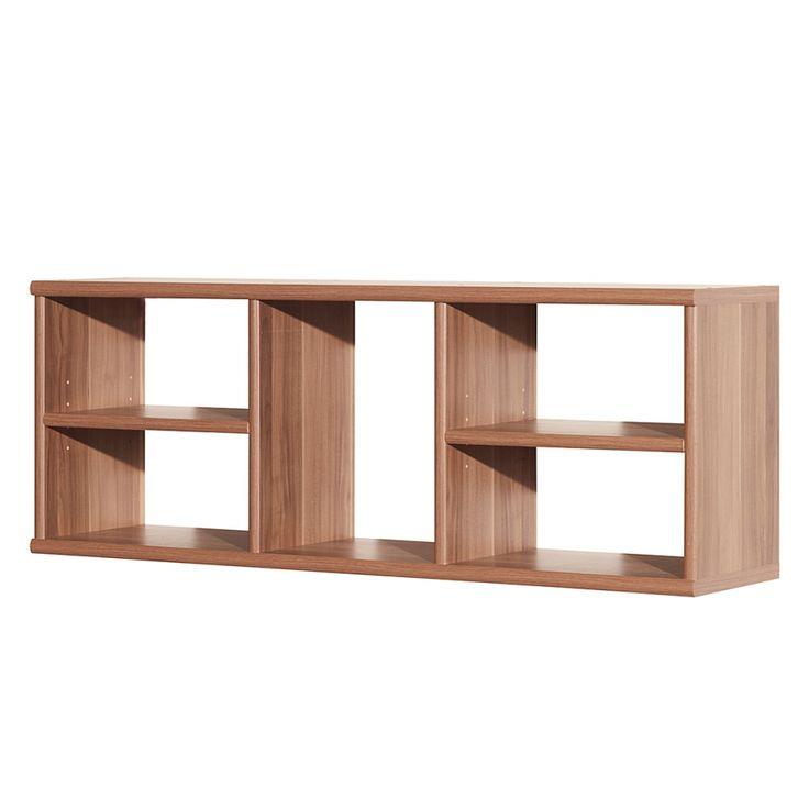 Wandkast Soft Plus II - notenboomhoutkleurig