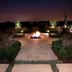 Mediterranean Patio Design, Pictures, Remodel, Decor And Ideas   Page 2. Feuerstelle  DesignsHinterhof FeuerstellenVersunkene ...
