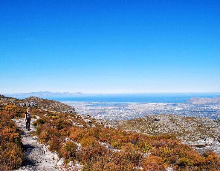 Top of Table Mountain, Cape Town