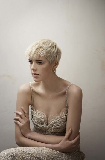 Agyness Deyn short hair