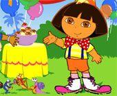 Dora Silly Dress Up Games