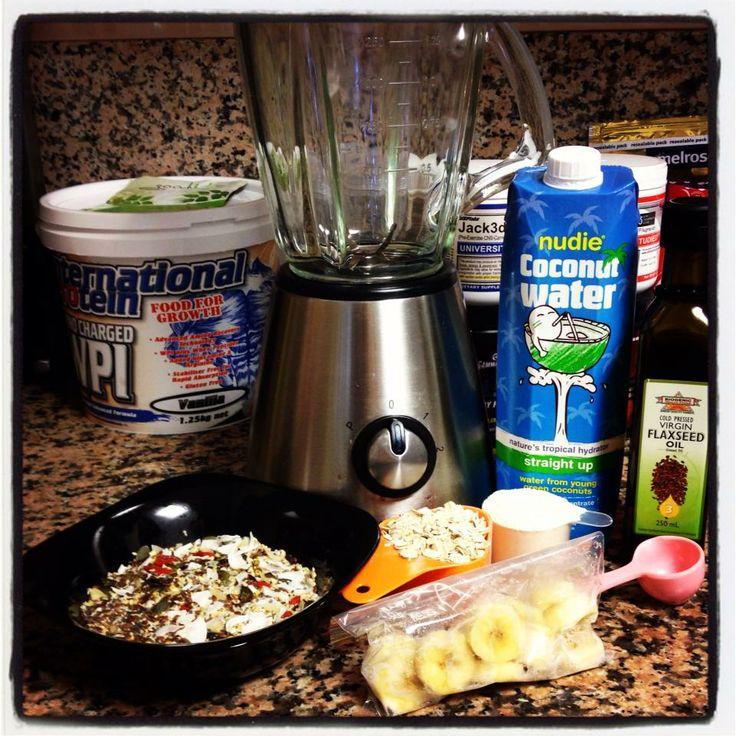 Post Workout / Breakfast Shake ~ goodMIX