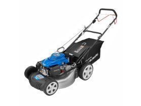 """Powerstroke 21"""" Lawn Mower is a rear drive and self-propelled lawn mower that is always grounded, providing exceptional traction control and maneuverability."""