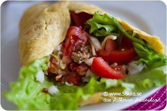 LCHF Taco recept