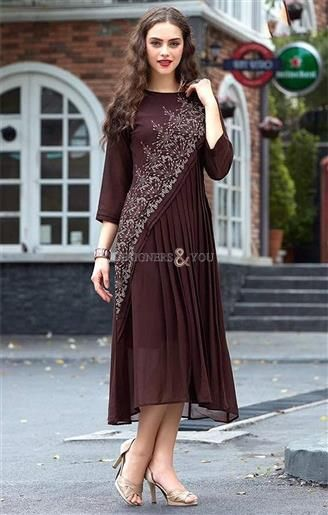 Females Elaborated Brown Long Straight Kurti To Pair With Palazzo http://www.designersandyou.com/kurtis/long-kurtis http://www.designersandyou.com/kurtis #DesignerKurti #DesignerKurtis #DesignerStraightKurtis #KurtisPakistaniDesigners #DesignerPartyWearLongKurtis #DesignerLongKurtisPakistani #DesignerLongKurti #DesignerLongKurtis #DesignerKurtiNeckDesigns #DesignerKurtisOnline #DesignerKurtisPatterns #LatestDesignerKurtis #NewDesigne Kurtis #BestDesignerKurtis #SimpleDesignerKurtis…