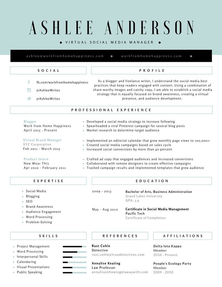 34+ Make my resume online free Examples