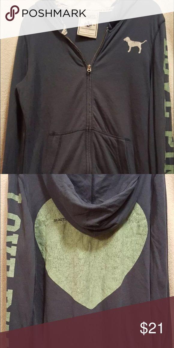 Victoria Secret PINK zip up hoodie VS PINK zip up hoodie. Medium PINK Victoria's Secret Other