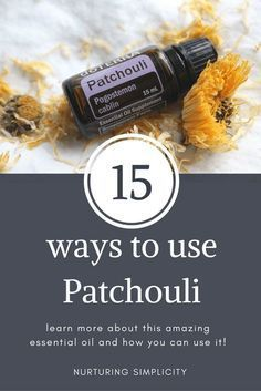 I've recently fallen in love with a new essential oil. Patchouli.  The funny thing is, I always thought I hated patchouli. I've smelled it in many fragrances and even by itself in the cheap essential oil bottles from the store, and I just couldn't stand it. So when my team announced we were going to…