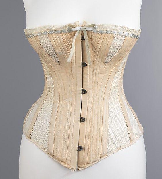 Madame Warren's ca. 1885   Corset   American   The Met