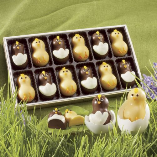 12 best the sweetest gifts for easter images on pinterest flock of sweet chicks from the swiss colony hand decorated easter messengers will have negle Choice Image