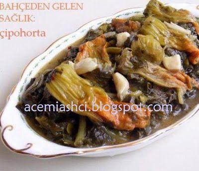 acemi aşçı: Girit yemekleri: Çipohorta