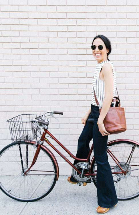 cycle chic, bicicleta, look