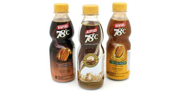 KopiKo 78ºC, de Configirona: Bebida a base del extracto de café Java tostado, molido y elaborado a una temperatura constante de 78 ºC. La botella equivale a beber una taza de café y está disponible en tres sabores: Mocharetta, con cacao; Caramel Frappe, con caramelos aromatizados, y Coffee Latte. El producto es sin gluten y Halal: