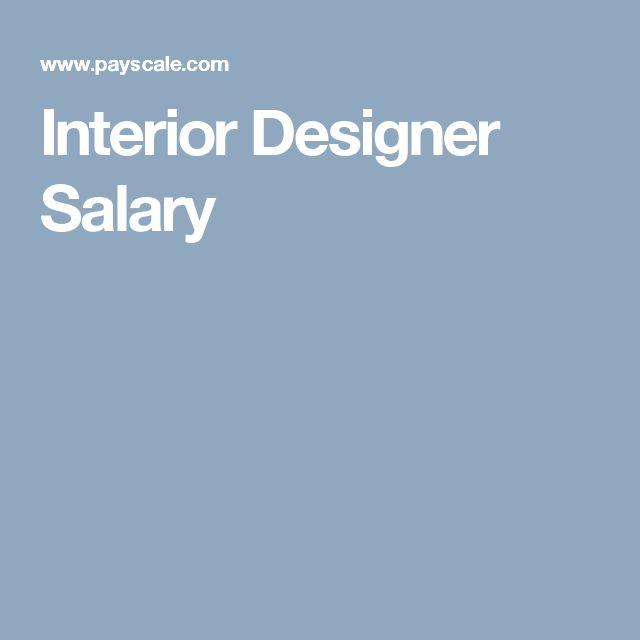 Interior Design Salary Interiors Design