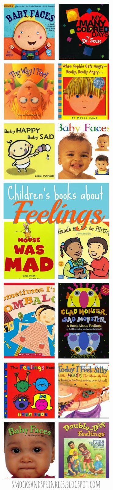 Books to read with children - Feelings