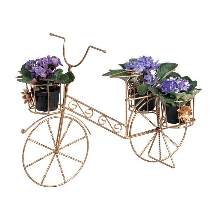 Foto 1 - Bicicleta Decorativa Em Ferro Alta
