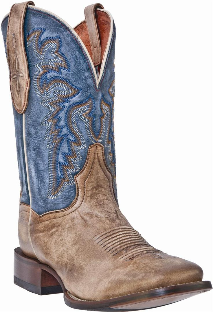 mens cowboy boots | Dan Post Mens Preston Cowboy Certified Vintage Luggage Boots FAVORITE