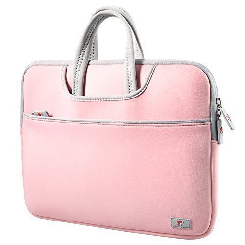 Macbook Air 13.3'' Laptop Sleeve Case Carrying Bag For Girls Messenger Pink New  #TaoTronics