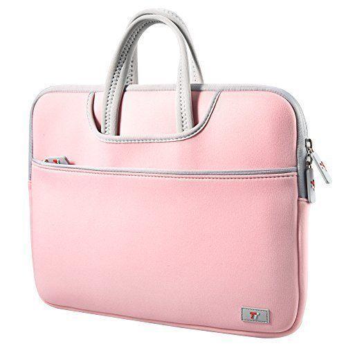 Macbook Air 13.3'' Laptop Sleeve Case Carrying Bag For Girls Messenger Pink New  #TaoTronics