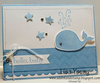 Baby card by genesis - Cards and Paper Crafts at Splitcoaststampers