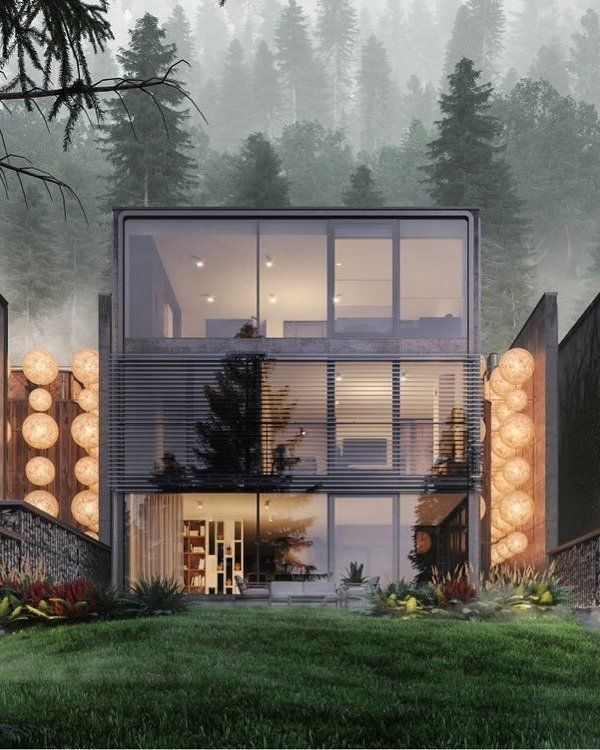 Forest House By Ink Pixel Visualizer My Perfect Box