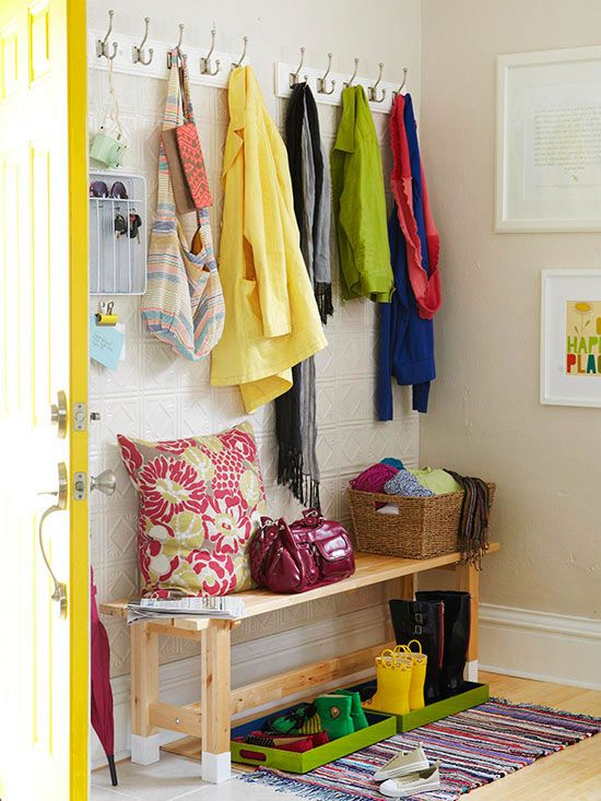 Foyer Storage Zone : Best decorate entryway images on pinterest door