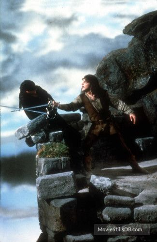 The Princess Bride - Publicity still of Cary Elwes & Mandy Patinkin