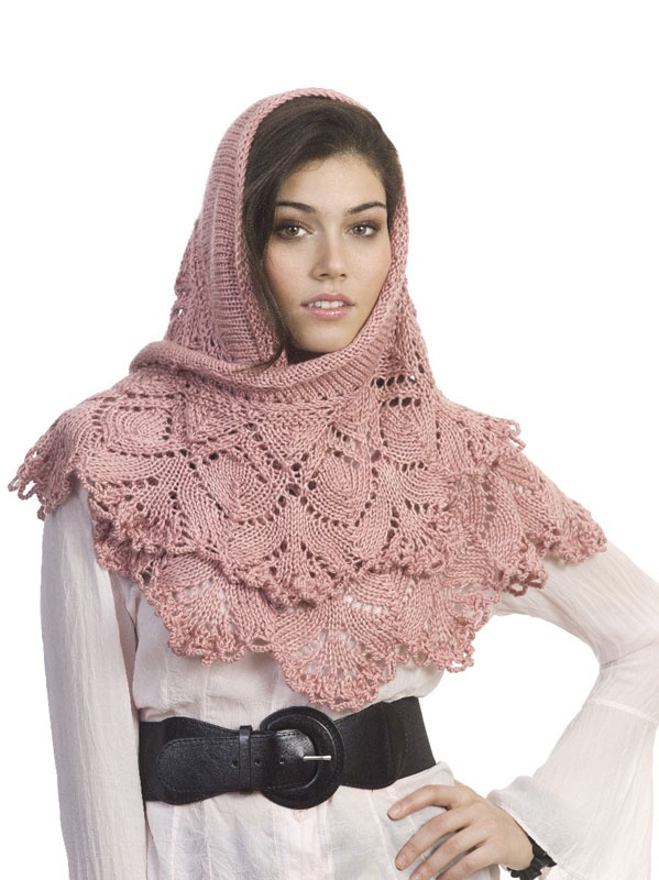 Pashmina Cowl Knitting Pattern : 297 best images about Knitting Cowl, Scarf and Shawl Patterns on Pinterest