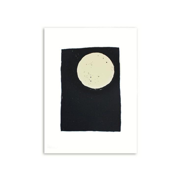 Poster \'The Moon\' Für die kleine Nichte