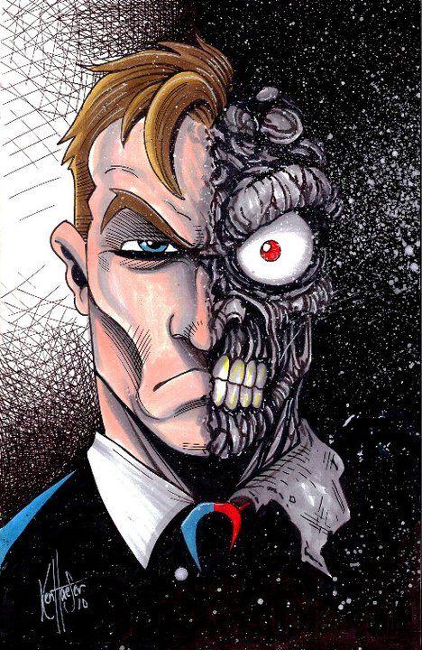 Batman and Villains series by Ken Haeser