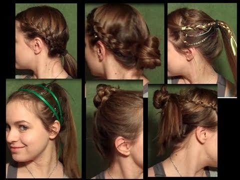 Astonishing 1000 Images About Hairstyles For Working Out On Pinterest Hairstyles For Women Draintrainus