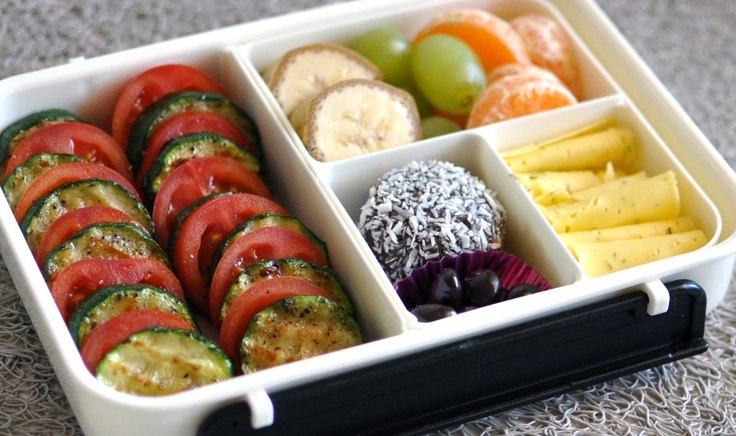 Colorful and delicious bento