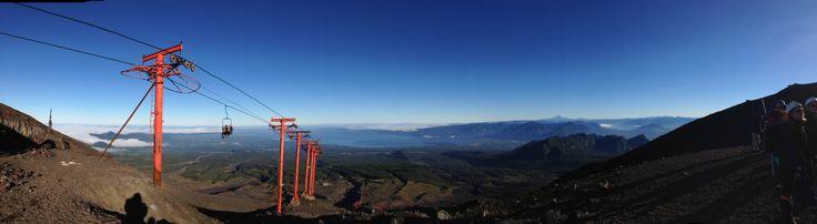 Chile. Volcano Day.