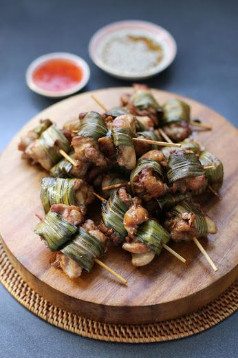 Marinated wrapped chicken is one of the exotic thai food that appears to be difficult to make. However, it a delicious dishes that worth making using soy sauce ingredients.