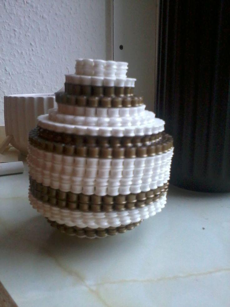 kähler vase i perler