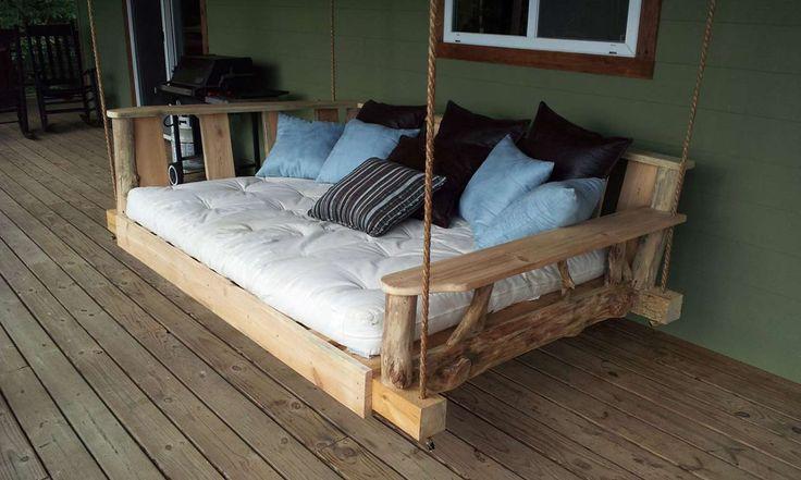 Modern Porch Swings ~ http://www.lookmyhomes.com/modern-porch-swings-ideas/