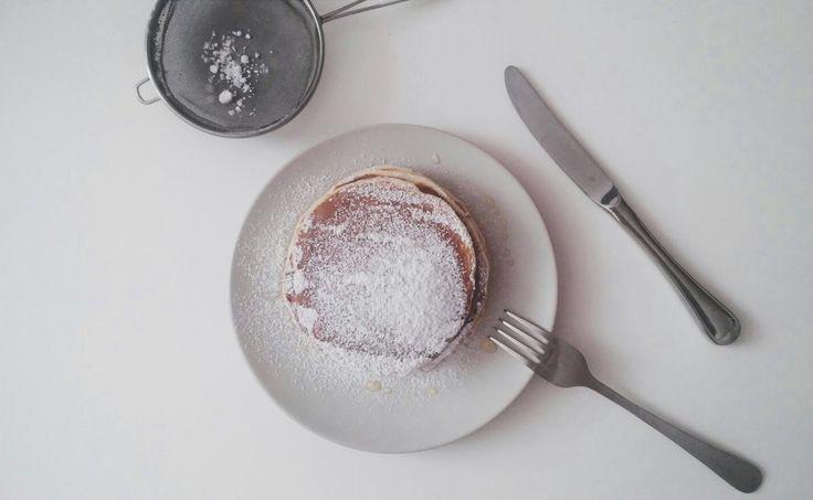 Pancakes for a sunday breakfast🍯 #pancakes #recipe #tasty #yummy #breakfast #idea