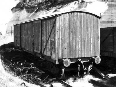 Box Van at Newnes Junction