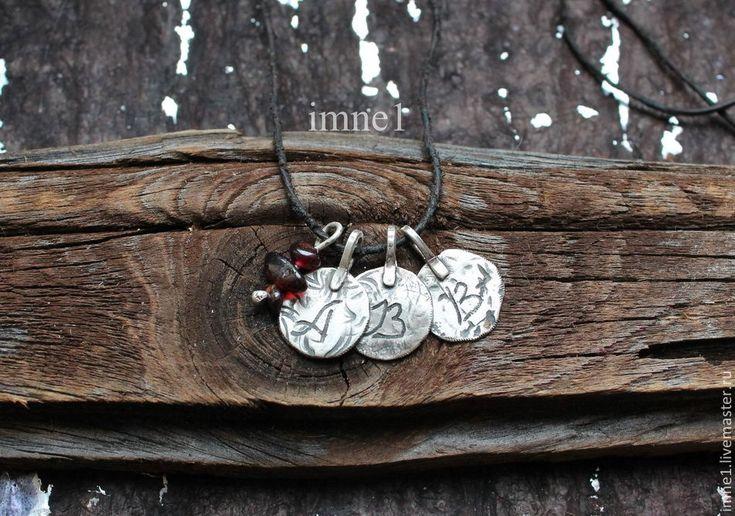Купить Подвески с инициалами - серебряный, монетки, монета, старинная монета, старинная подвеска